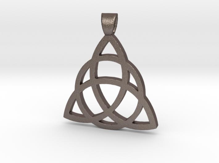 Eternity Amulet-Celtic 3d printed