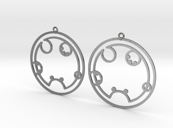 Shelby - Earrings - Series 1 3d printed