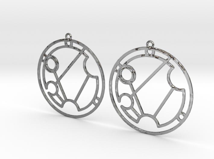 Savannah - Earrings - Series 1 3d printed