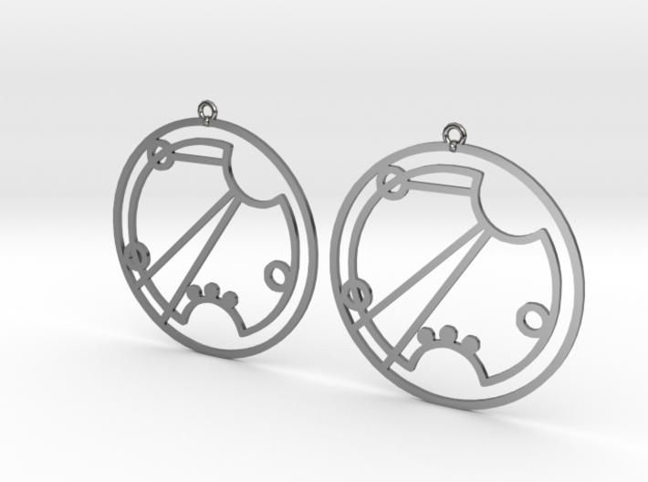 Rosie - Earrings - Series 1 3d printed