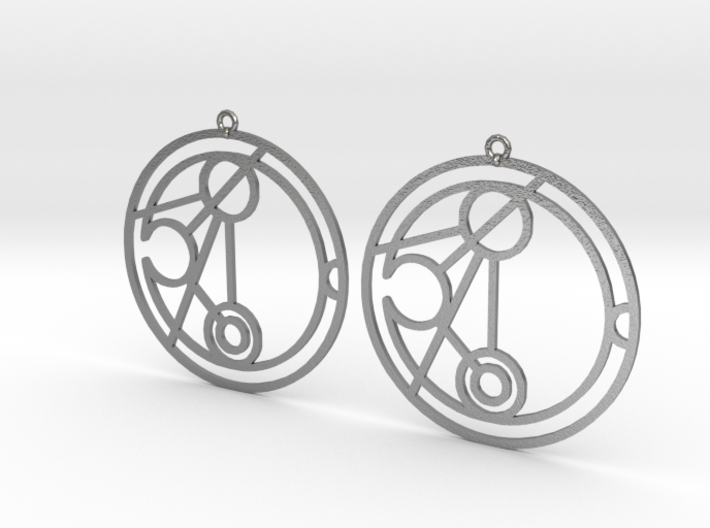 Niamh - Earrings - Series 1 3d printed