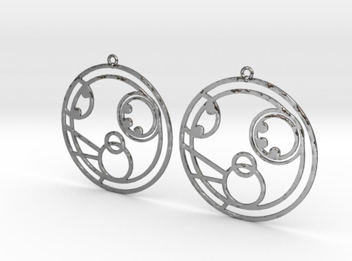 Molly - Earrings - Series 1 3d printed