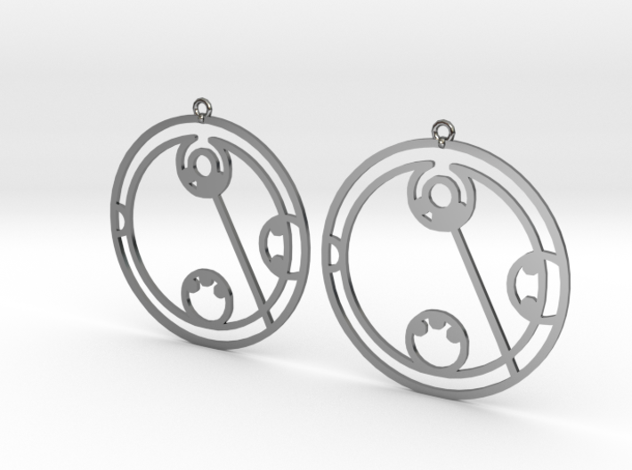 Lydia - Earrings - Series 1 3d printed
