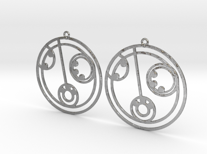 Lilly - Earrings - Series 1 3d printed