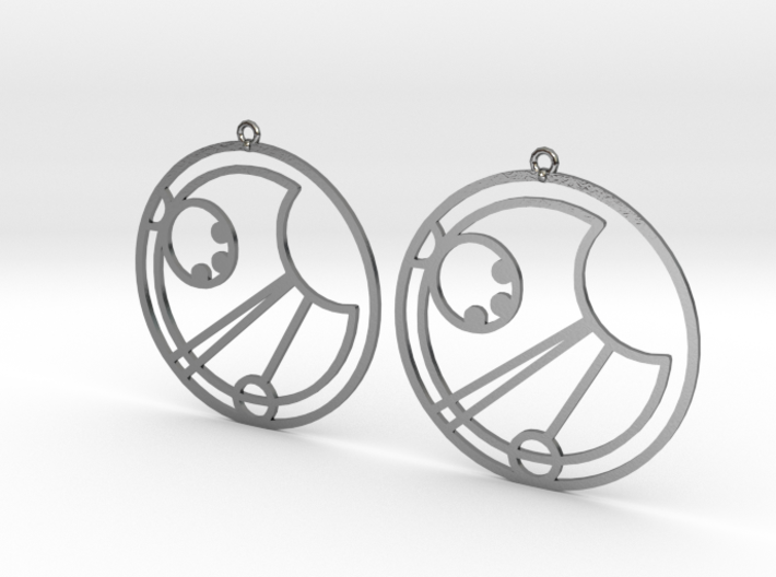 Isla - Earrings - Series 1 3d printed