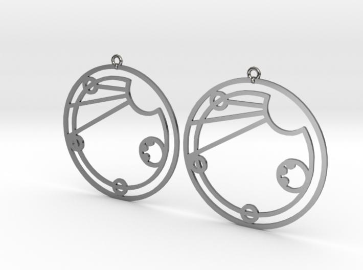 Elsie - Earrings - Series 1 3d printed