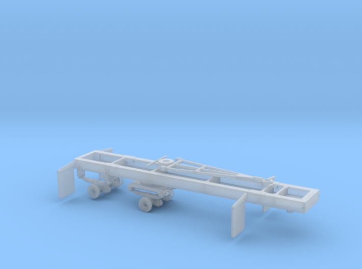 1/50th Scale Short Log logging trailer 3d printed