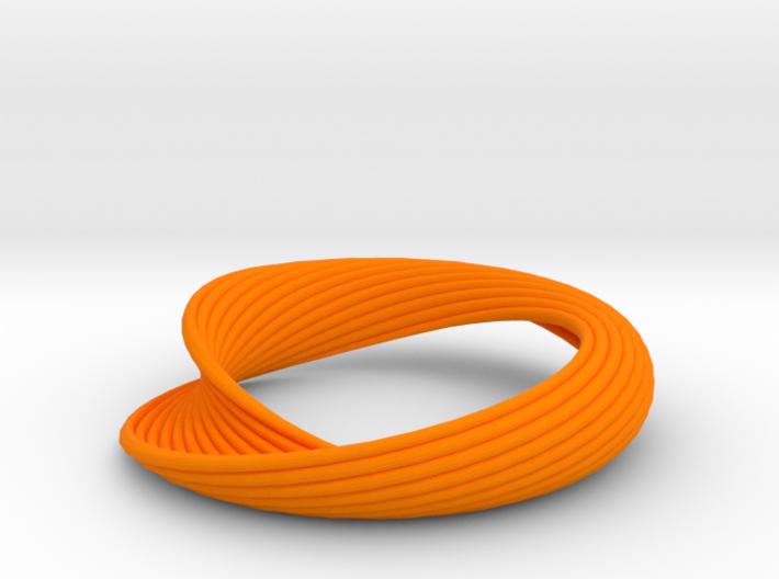 Curvilinear Bracelet 3d printed
