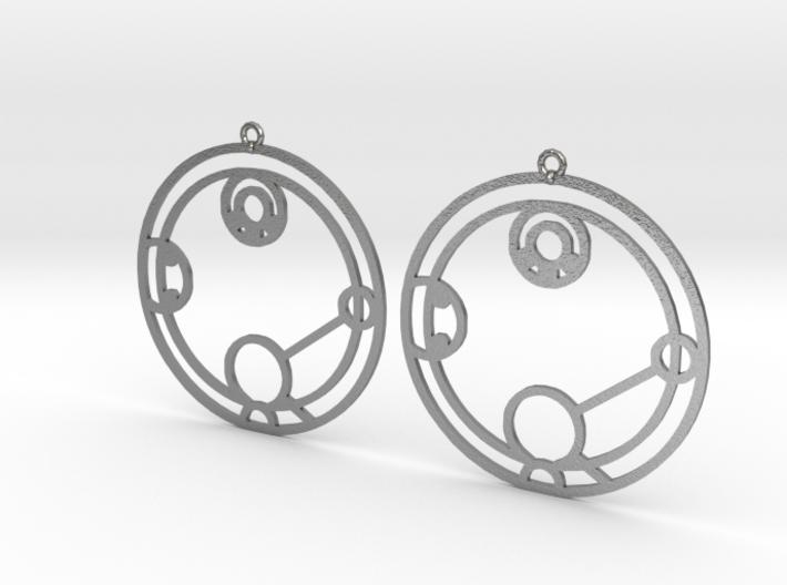 Hailey - Earrings - Series 1 3d printed