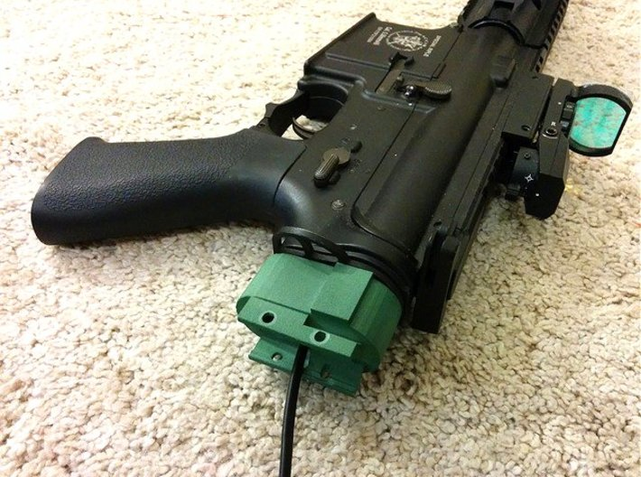 M4 Receiver Picatinny Mount Adapter 3d printed
