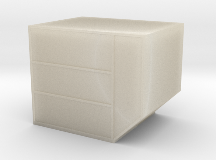 LD-3 Air Cargo Container 1:72 3d printed