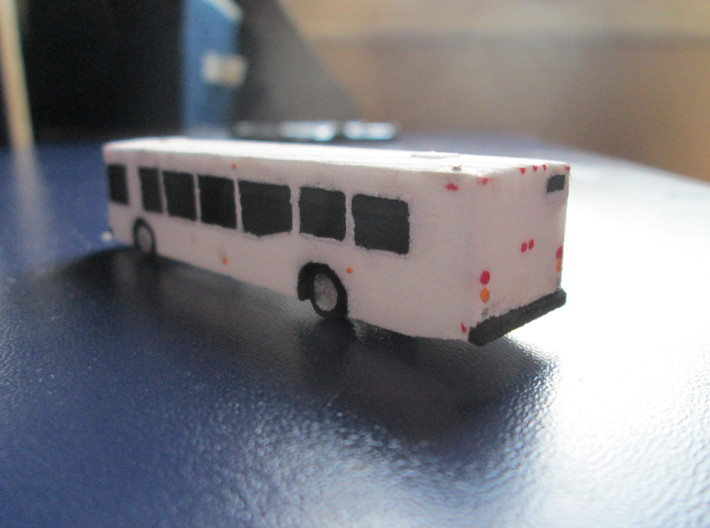 n scale nabi 40-lfw bus 3d printed finished model