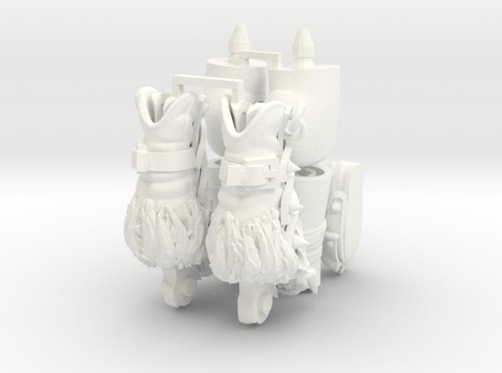FB01-Legs-14 7inch 3d printed