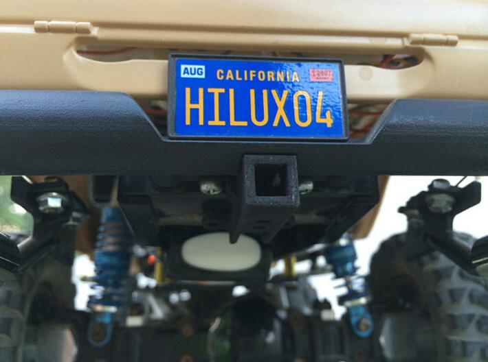 397006-02 Hilux High Lift Rear Bumper w/Lights 3d printed