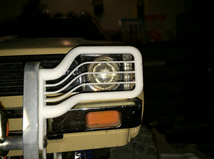 397007-01 High Lift Hilux Front Guard 3d printed