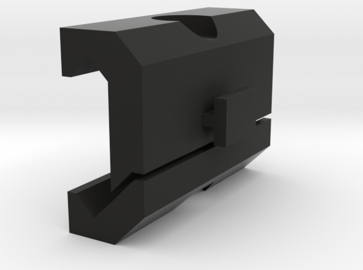 Car DVR Picatinny Mount Adapter 3d printed