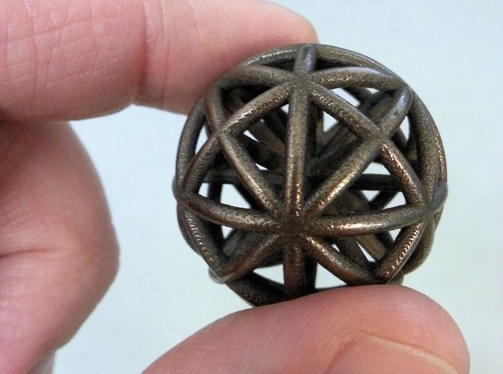 Spherical thing 3d printed Wonderful to play with it in hands!
