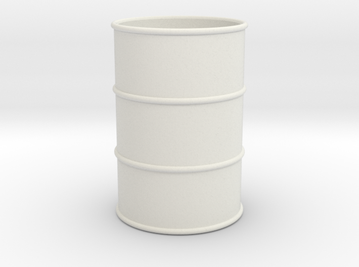 G Scale 44 Gallon Drum 1:22.5 (open one end) 3d printed