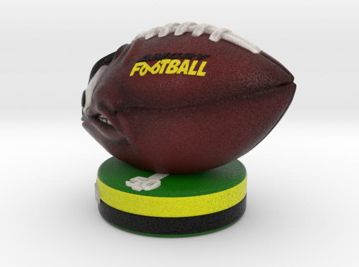 AngryFootballColor 3d printed