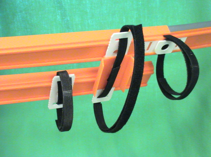 20 Velcro Hot Wheels Track Anywhere, Pack of 20 3d printed Connect track Ends, Mid-track, or Two tracks for Racing!