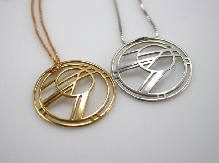 Rising Sun Abstract Pendant 3d printed Chains Not Included. Only 1 Pendant per Purchase