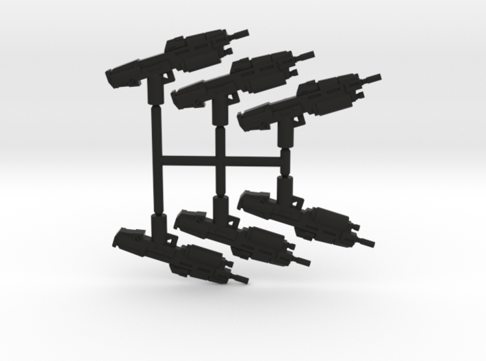 Anti Infantry Rifle Pack 3d printed