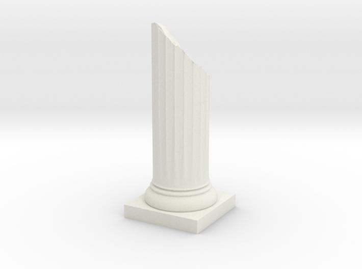 Pillar Broken Bottom Variation 01 Lrg 3d printed