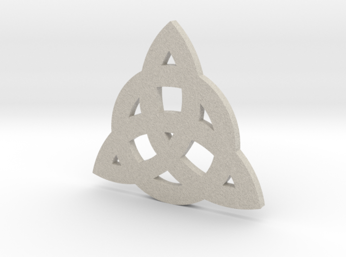 Triquetra (CelticTinity) 3d printed