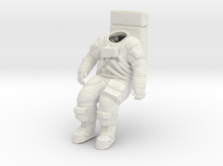 Apollo Astronaut / Sitting Position / 1:16 3d printed