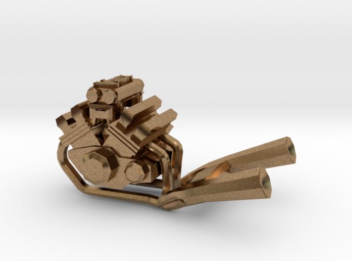 Engine pendant Yamaha Vmax 3d printed