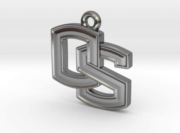 Oregon State OS logo Pendant 3d printed