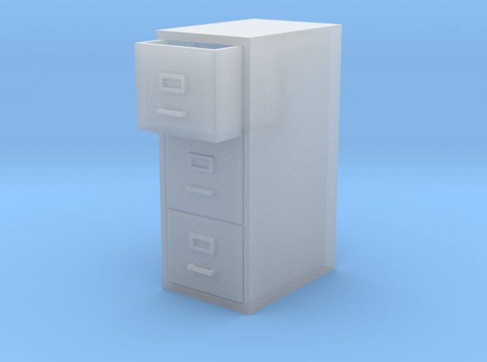 Single Filing Cabinet 3d printed