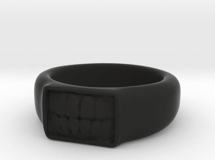 Tooth Ring 3d printed