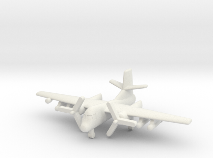 1/285 S-2 Tracker 3d printed