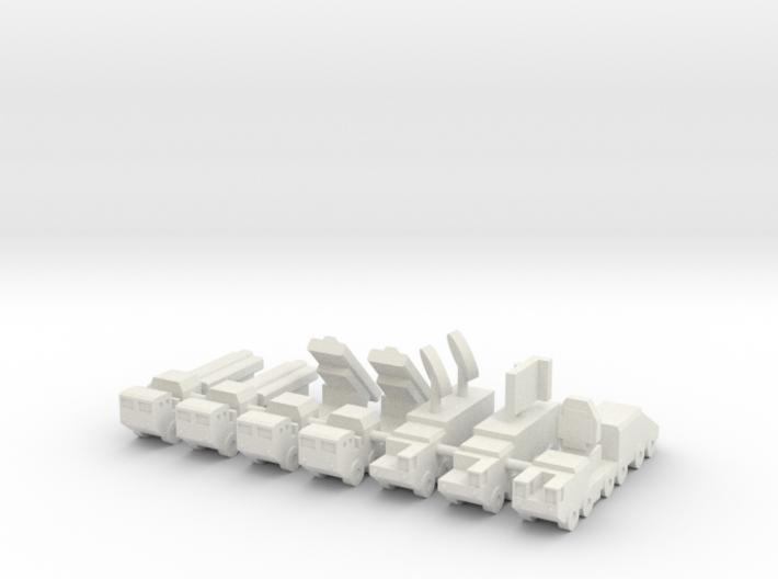 1/285 CJ-10 SSM 3d printed
