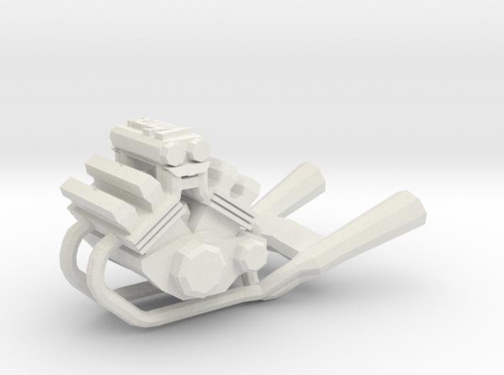 Yamaha Vmax engine keychain 3d printed