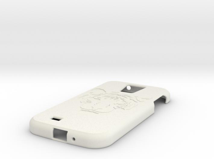 Samsung S4 Tiger 3d printed