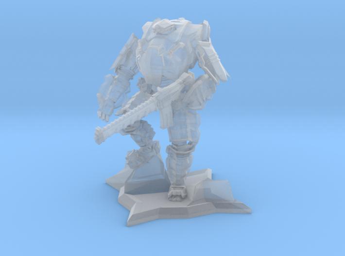 Combat Walker 15mm Scale 3d printed