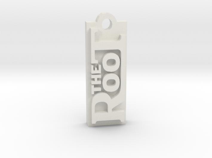 The Root - Bag Tag 3d printed