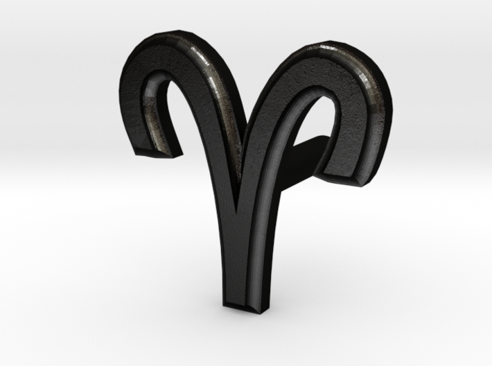 Aries Earring 3d printed
