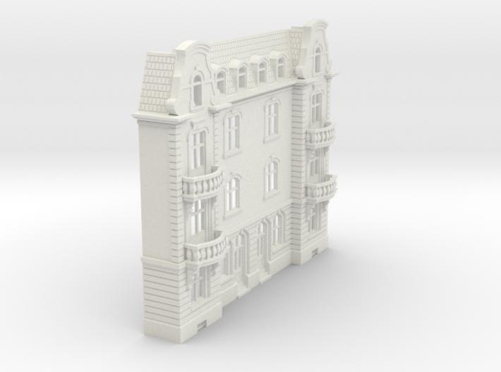 Stadthäuser-Relief 'Basel' (N 1:160) 3d printed