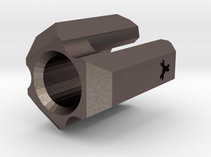 Lanyard Clip Bead - Small 3d printed