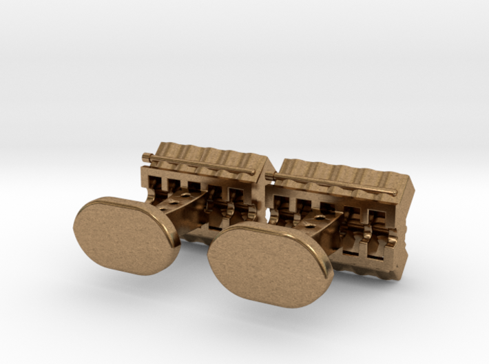 V10 Engine block cufflinks 3d printed