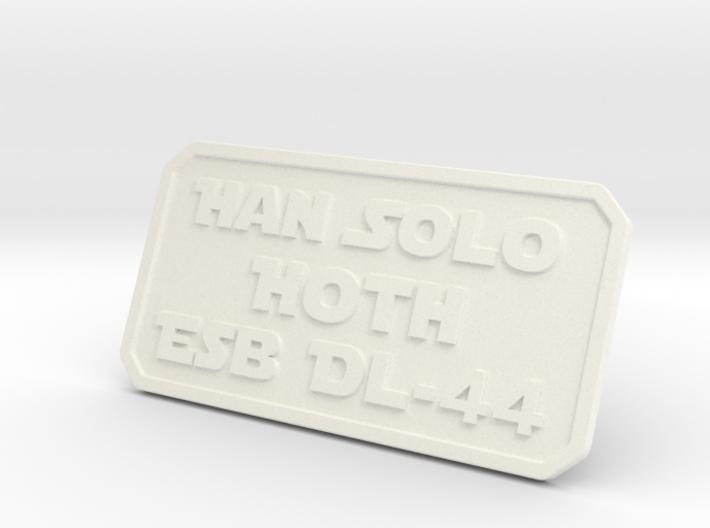 Han Hoth 3d printed