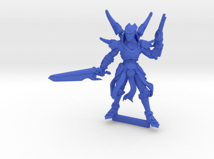 Hetara Officer 3d printed