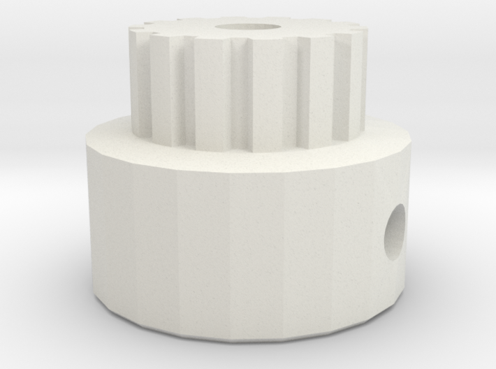 Pulley T2,5-14 3d printed