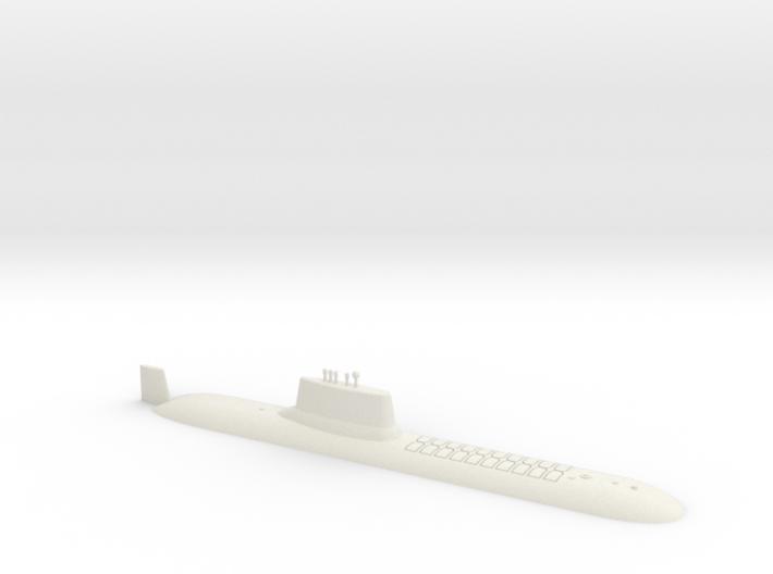 1/700 Typhoon Class SSBN (Waterline) 3d printed