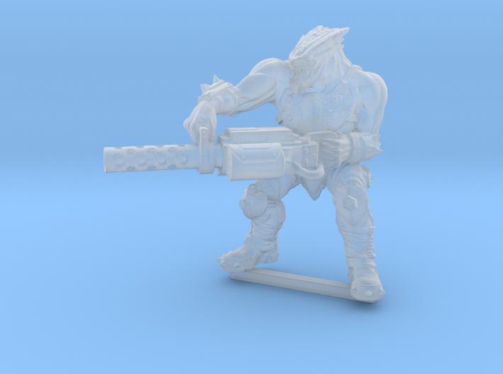 Kelk Hunter with Shredder Cannon  3d printed
