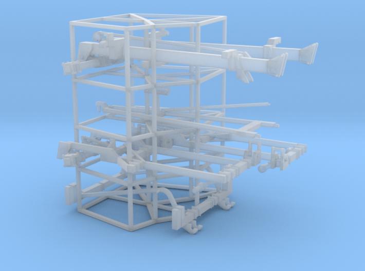 1/64 Dominator #1 Frames (5 degrees) 3d printed