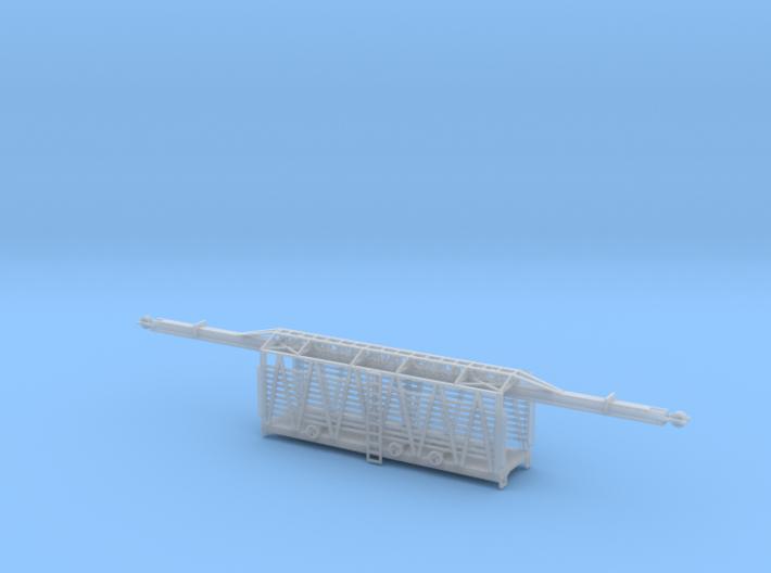 34 ft. MOW Rail Car Z Scale 3d printed